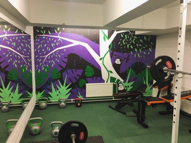 Liana gym