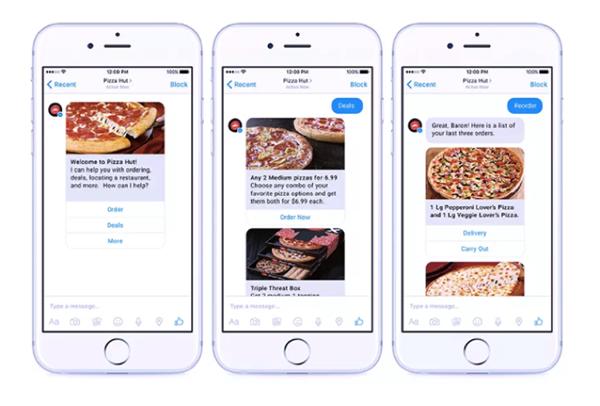 Pizzan tilaaminen onnistuu chatbotin avulla